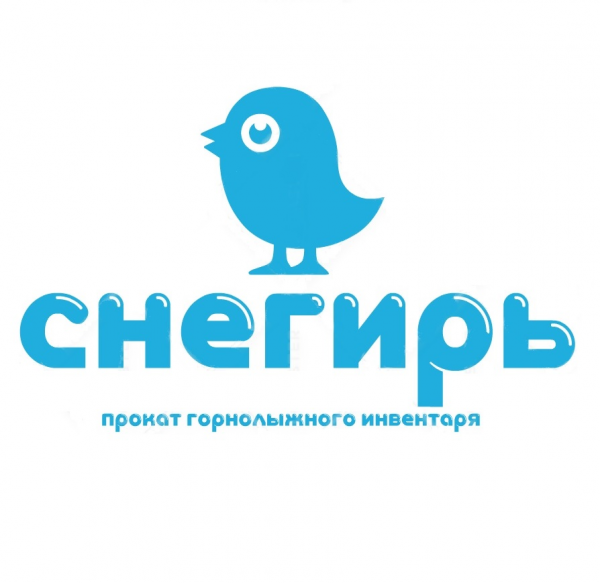Логотип компании Снегирь